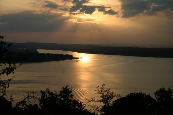 lago vista custom home builder -  lago vista sunset
