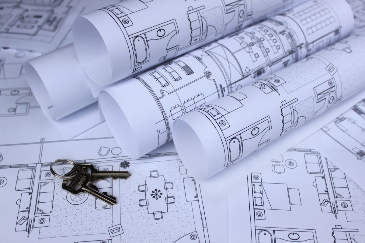blueprint of home and home keys